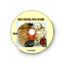 Step by step How to dry Vegetables, Fruits, Herbs, equipment, preparations, DVD