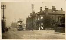Farsley near Pudsey. Old Road End # 267 by C.& A.G.Lewis. Tram.