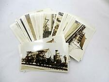 Lot of 43 Sepiatone Photographs of Fair of the Iron Horse TRAINS INDIANS 1927