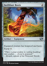 MTG 2x SWIFTFOOT BOOTS EXC - STIVALI PIEDELESTO - CMD2014 - MAGIC