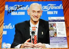 Adam Silver Signed 8x10 Photo NBA Commissioner 2014 JSA COA Autograph Basketball