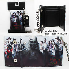 THE WALKING DEAD Best Trifold Wallet Purse With Chain Cool Wallet Gift