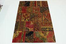 Modern Patchwork Stone Wash Used Look % Perser Teppich Orientteppich 3,02 X 2,00
