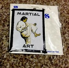 MARTIAL ARTS  SEWN ON PATCH/BADGE    (2)