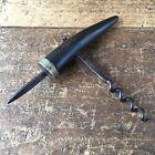 Antique Vintage Bar Tool ADELAIDE Corkscrew HORN Handle BOTTLE OPENER #5