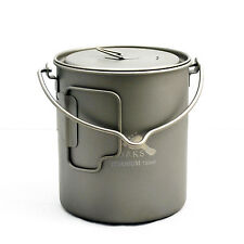 TOAKS Titanium 750ml Pot with Bail Handle (POT-750-BH)