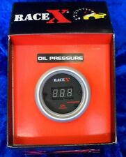 OIL PRESSURE GAUGE DIGITAL TYPE BY RACE X