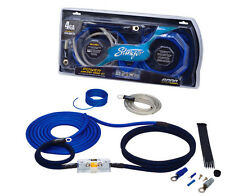 Stinger 4 Gauge 6000 Series Amp Power Wire Amplifier Installation Kit SK6241