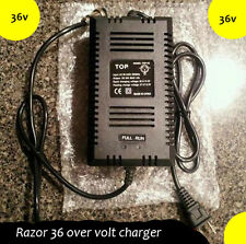 Razor Scooter 36 volt charger-36v Overvolt kit charger