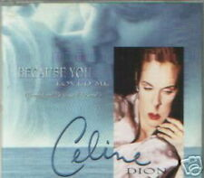 CELINE DION MAXI CD AUTRICHE BECAUSE YOU LOVED ME