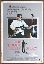 The Buddy Holly Story Vintage Original Dry Mounted Flat Movie Poster 1978