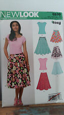 Simplicity New Look 6899  Ladies dress making pattern. top and skirt
