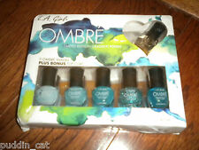 L.A. Girl Ombre Limited Edition set of 6 gradient nail polishes Spring Fling NEW