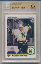 1990 Upper Deck Mike Modano (HOF) (RC) (#46) (Sub Grades 3-9.5's/1-9) BGS9.5 BGS