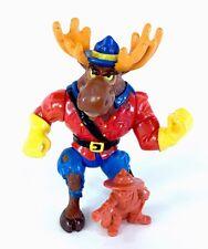 TMNT Vintage Lot Monty Moose Teenage Mutant Ninja Turtles Figure Rare