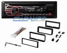 PIONEER CAR STEREO RADIO CD PLAYER WITH COMPLETE DASH INSTALLATION KIT & WIRING