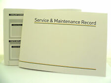 Car Service Book New ALLMAKES GENERIC Unstamped History Maintenance Record