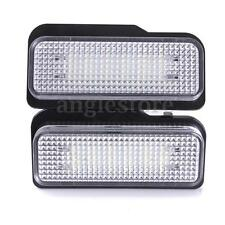 2x NO ERROR LICENSE PLATE LED LIGHT FIT MERCEDES BENZ W203 W211 W219 SLK CLS C21