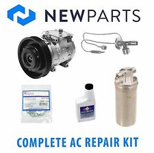 Honda Accord 1994-1997 Complete AC A/C Repair Kit NEW OEM Compressor with Clutch