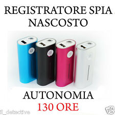 MICRO REGISTRATORE VOCALE SPY  SPIA  VOICE RECORDER MINI  AMBIENTALE USB