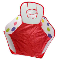 Children Baby Kids Fun Play Pop Up Tent Toy Ocean Ball Pool Pit Hoop Playhouse