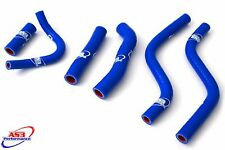 HONDA CR 250 1988-1991 HIGH PERFORMANCE SILICONE RADIATOR HOSES BLUE