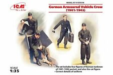 ICM 35614 1/35 German Armoured Vehicle Crew (1941-1942)