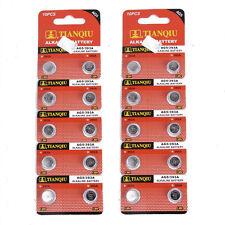 20x Knopfzelle UhrenBatterie 1.5V AG5 / 393A / LR754 / LR48