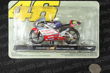 APRILIA RS 125 #46 Rossi World Championship 1997 Motorcycle Racing Model 1/18