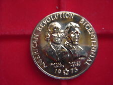 A 1973 MEDALLION TO COMMEMORATE THE AMERICAN REVOLUTION BICENTENARY