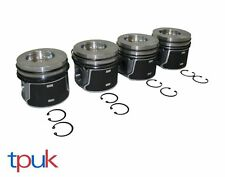 BRAND NEW TOP QUALITY PISTONS FORD TRANSIT CONNECT 1.8 TDDi 2002 ON PER 4