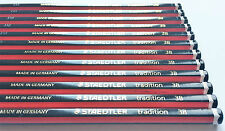 12 x 3B STAEDTLER TRADITION PENCILS BOXED SCHOOL STUDENT DRAWING DESIGN ART