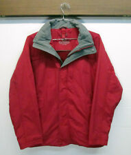 vtg L.L. Bean Red Waterproof Winter Ski Snow Windbreaker Jacket sz S 3 in 1 EUC!