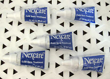 5 Nexcare COLD SORE TREATMENT 0.07 oz EACH - Sample Size - NEW / SEALED@