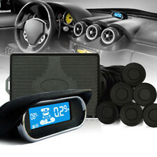 Waterproof Car Parking Sensors System+8 Rear Front View Reverse Backup Radar Kit