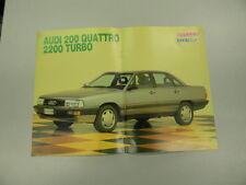 Q64 Mini Poster Audi 200 quattro --Skorpio 1986 32x23