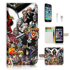 iPhone 6 (4.7') Flip Wallet Case Cover! P1601 One Piece