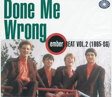 DONE ME WRONG UK EMBER BEAT 1965-68 VOL. 2 COMP w/pre EIRE APPARENT SEALED CD