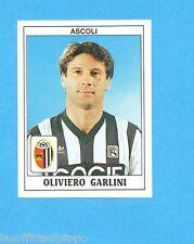 PANINI CALCIATORI 1989/90 -Figurina n.12- GARLINI - ASCOLI -Recuperata