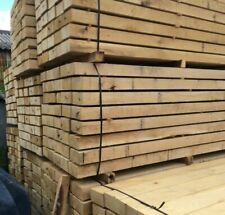 Pallet of PAR Untreated Oak Sleepers 1200x190x90 FREE DELIVERY