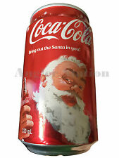 MUST-HAVE Special Edition Coca-Cola Christmas Coke Santa Claus (Empty Can)