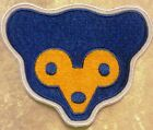 "Chicago Cubs 3.5"" Iron On Cub Face Embroidered Patch ~FREE SHIP!~"