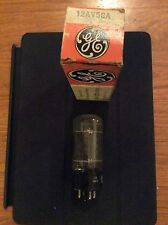 GE 12AV5GTA Vacuum Tube - NOS, In Box, Tested