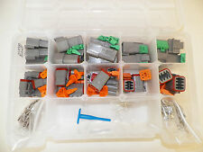 DEUTSCH DT SERIES GRAY CONNECTOR KIT 237 PC SOLID terminal + pic tool