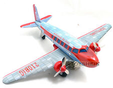 Schylling Collectors Series DC-3 Tin Airplane 213818