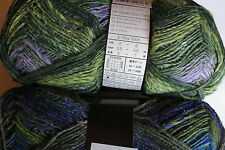 "Noro ""SILK GARDEN SOCK"" Yarn #S354 Yellow/Green/Blue"
