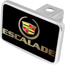 New Cadillac Escalade Gold Logo/Word Hitch Cover Plug