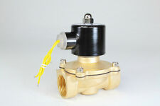 "2way2position DC12V 1"" Electric Solenoid Valve Water Air N/C Gas Water Air"