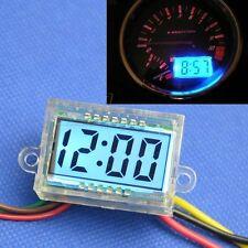 Digital LCD Clock Waterproof time 12v Car Motorcycle Motorbike Scooter Bike