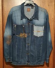 ENYCE Authentic Brand Blue Jean Denim Jacket, Size XL